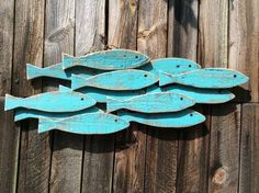 Woodworking Projects For Beginners Turquoise Blue Fish Bank Wooden Wall Decoration en.Woodworking Projects For Beginners Turquoise Blue Fish Bank Wooden Wall Decoration en Fish Wall Art, Fish Art, Fish Wall Decor, Beach Wall Decor, Diy Wall, Fish Crafts, Beach Crafts, Wooden Wall Art, Wooden Walls