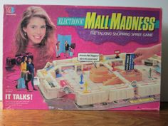 80s board games | Electronic Mall Madness Board Game - Toys of the '80s