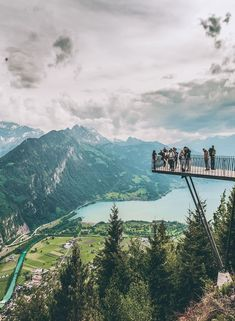 Interlaken Switzerland view! If you are on the hunt for the most beautiful places in Switzerland to add your Switzerland travel itinerary, Interlaken should be at the top of your bucket list! Do you agree? Find out why we think so at www.avenlylanetravel.