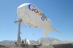 Google Blimps will carry wifi signals across Africa.