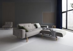 Our modern sofa bed and modern sleeper sofa collection is comfortable, high quality, and still stylish. Modern Sleeper Sofa, Sofa Bed Sleeper, Sofa Chair, Armchair, Sofas, Innovation Living, Danish Modern, Danish Design, Villa