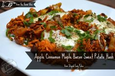Apple Cinnamon Maple Bacon Sweet Potato Hash Stupid Easy Paleo - Easy Paleo Recipes to Help You Just Eat Real Food