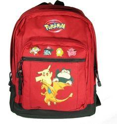 Pokémon Red Backpack