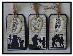 christmas silhouettes - Google Search