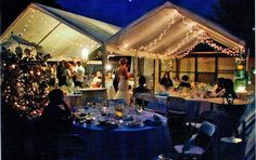 Frame Tents for Wedding Reception. See our Website for prices.