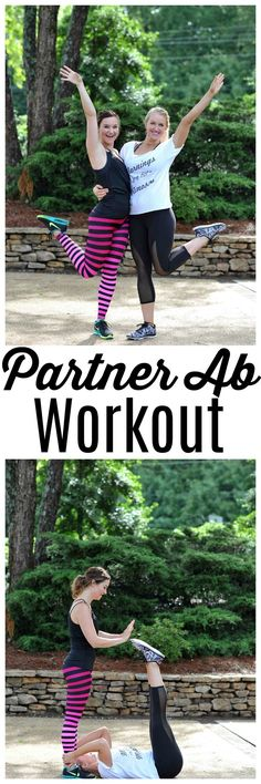 Partner Ab Workout with Premier Protein