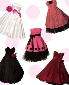 christmas party dresses from the 50's