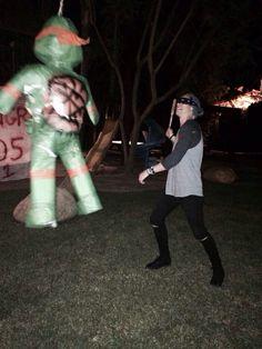 Ninja turtle piñata