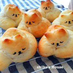 Napping cat bread