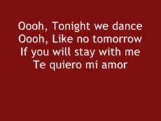 love.this.song.Enrique Iglesias - Bailamos lyrics