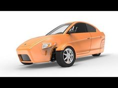 2014 Elio Motors Elio. More: http://carpictures.us/  The Elio gets 84 miles to the gallon on the highway and 49 MPG in the city and can go 672 miles on its 8 gallon tank. It will cost $6,800 and is slated to begin production in the spring of 2014 at Elio Motors Shreveport, Louisiana plant. Safety. Each Elio comes equipped with a Safety Manage...