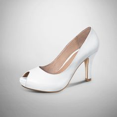 #Peeptoes #white #shoes #VivelaModa #PriceShoes #México #femme #LaModaMasDeseada    De venta en → http://tiendaenlinea.priceshoes.com/