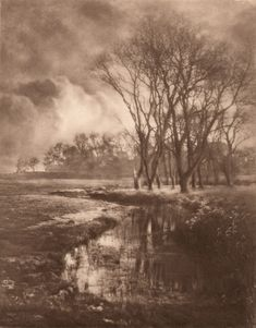 Motiv aus Suffolk by Alfred Horsley Hinton – 1902