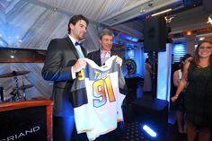 2016 Islanders Casino Night John Tavares, Casino Night, Coat, Sports, Jackets, Fashion, Hs Sports, Down Jackets, Moda