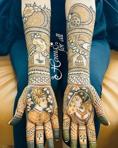 Attractive and Amazing Latest Mehndi Designs - Must try in 2019