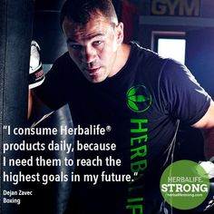Dejan Zavec - Boxing - Herbalife Sponsored Athlete https://www.goherbalife.com/kristybrooks/en-US/Catalog/