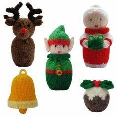 Christmas ornaments knitting patterns