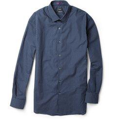 Paul Smith London Polka-Dot Cotton Shirt