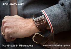 Lowry Leather Cuff for Apple Watch®
