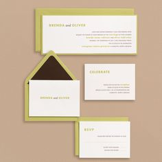 like the simplicity of these invites