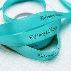 """5/8"""" Satin Personalized Continuous Ribbons - Personalized Ribbons - Favor Packaging - Wedding Favors & Party Supplies - Favors and Flowers"""