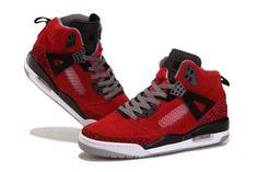 Air Jordan Spizike woman shoes red black Sale: $65.24