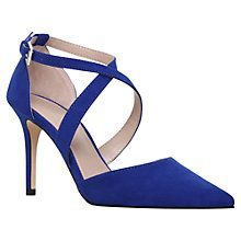 268b39a291ac wedding shoes bride Sally Blue High Heel Court Shoes from Miss KG ...