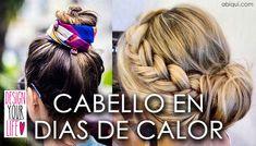 Ideas para el verano #calor #verano #peinado #cabello