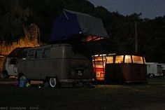 Roof Top Tent and VW Bus Camping | Flickr