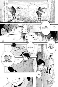 Page 20 #Ereri #riren #eren #yeager #levi #aot #attackontitan #yaoi #doujinshi #sweet #romantic #r18