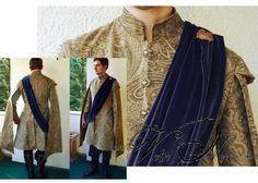 King Joffrey Baratheon Purple Wedding Costume