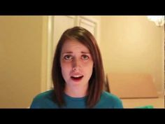 The Overly Attached Girlfriend did a parody of one direction's what makes you beautiful about taylor swift telling her that she is delisional -D