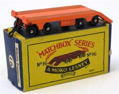 Lot 116 – Matchbox Moko Lesney 1:75 – Vintage and Collectible Toys 02 Apr 2014 http://www.candtauctions.co.uk/