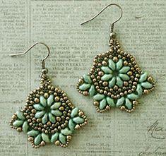 Crafty Ispirazioni di Linda: recensione modello: bellezza orecchini Boemia
