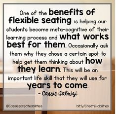 If you want to start using #flexibleseating in your classroom, but need some inspiration, scroll through this post to get some great information. Find tips on how to start collecting various types of seats, how to organize your room supplies, introduce the options to your students and parents, how to pan for a sub, and more! It's great for upper and lower elementary and can help keep your kids more focused on their work. #AlternateSeating 4th Grade Classroom, Preschool Classroom, Preschool Ideas, Classroom Decor, Classroom Organization, Classroom Management, Classroom Seating Arrangements, Learning Process, Upper Elementary