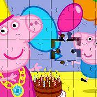 Peppa Pig Jigsaw Puzzle,k7x.com,juegos gratis en línea