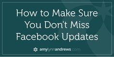 How To Create an Interest List in Facebook so you won't Miss Updates!