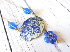 Recycled Cookie Tin Jewelry!