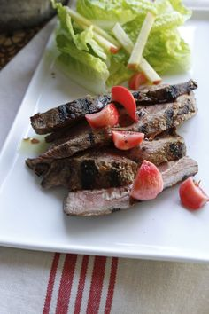 Family Meal: Hanger steak