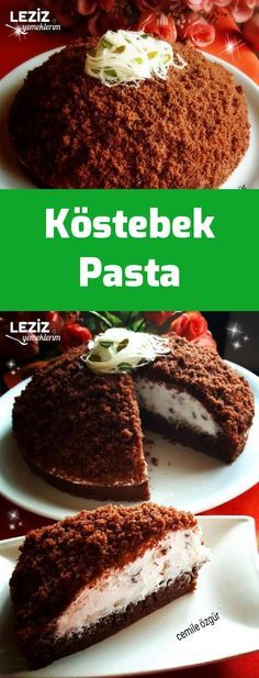 Köstebek Pasta - is-sit tiegħi Homemade Beauty Products, Dessert Recipes, Desserts, Mole, Chocolate Cake, Food And Drink, Healthy Recipes, Breakfast, Ethnic Recipes