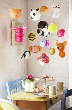 whimsical paper lantern tea party #camillestyles