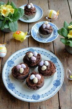 Easter Egg Muffins by Karen Burns-Booth