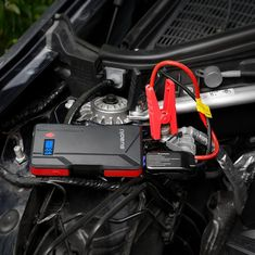Amazon.com: Suaoki P6 Jump Starter 800A Peak Car Battery (Up to 6.0L Gas or 5.0L Diesel Engines) with LCD Screen Dual USB Port Power Bank Flashlight: Automotive