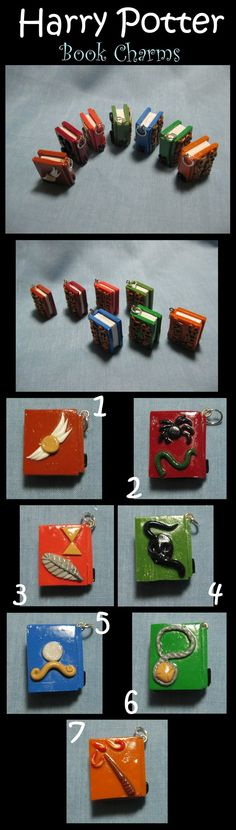Harry Potter Book Charms by kitcat4056.deviantart.com