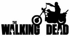 Image result for walking dead black and white signs