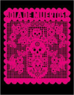 Papel picado, traditional Mexican cut paper art