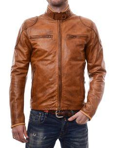 Matchless Osborne Vent Blouson Man AntiqueCuero | Accent Clothing
