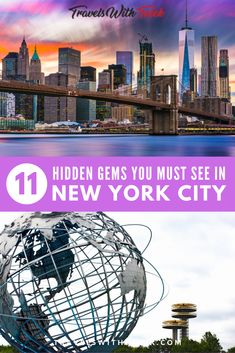 See New York City in a whole different light with these 11 hidden gems in NYC shown to you by a native New Yorker. These New York City attractions are some of the best kept secrets this city has to offer. New York Travel Guide, Usa Travel Guide, New York City Travel, Travel Usa, Travel Guides, Travel Tips, Travelling Tips, Travel Advice, Places To Travel