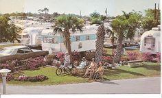 Bay Pines Annex Travel Trailer Park    Seminole, Fla