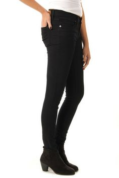 Black Skinny Jeans And Booties!